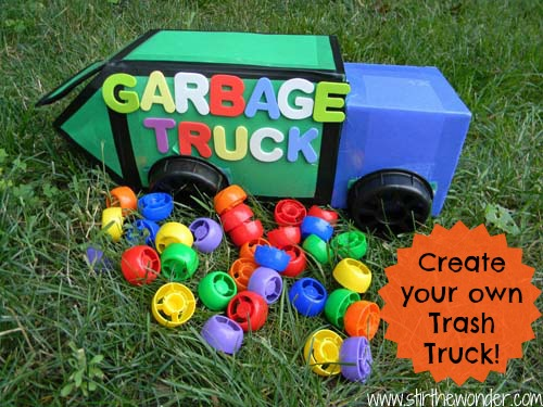 Create your own Trash Truck!