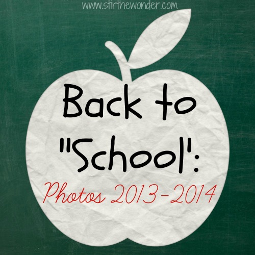 "Stir the Wonder | Back to ""School"": Photos 2013-2014"