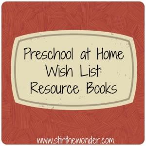 Resource Books Wish List