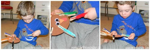 Clothespin Turkey Collage2
