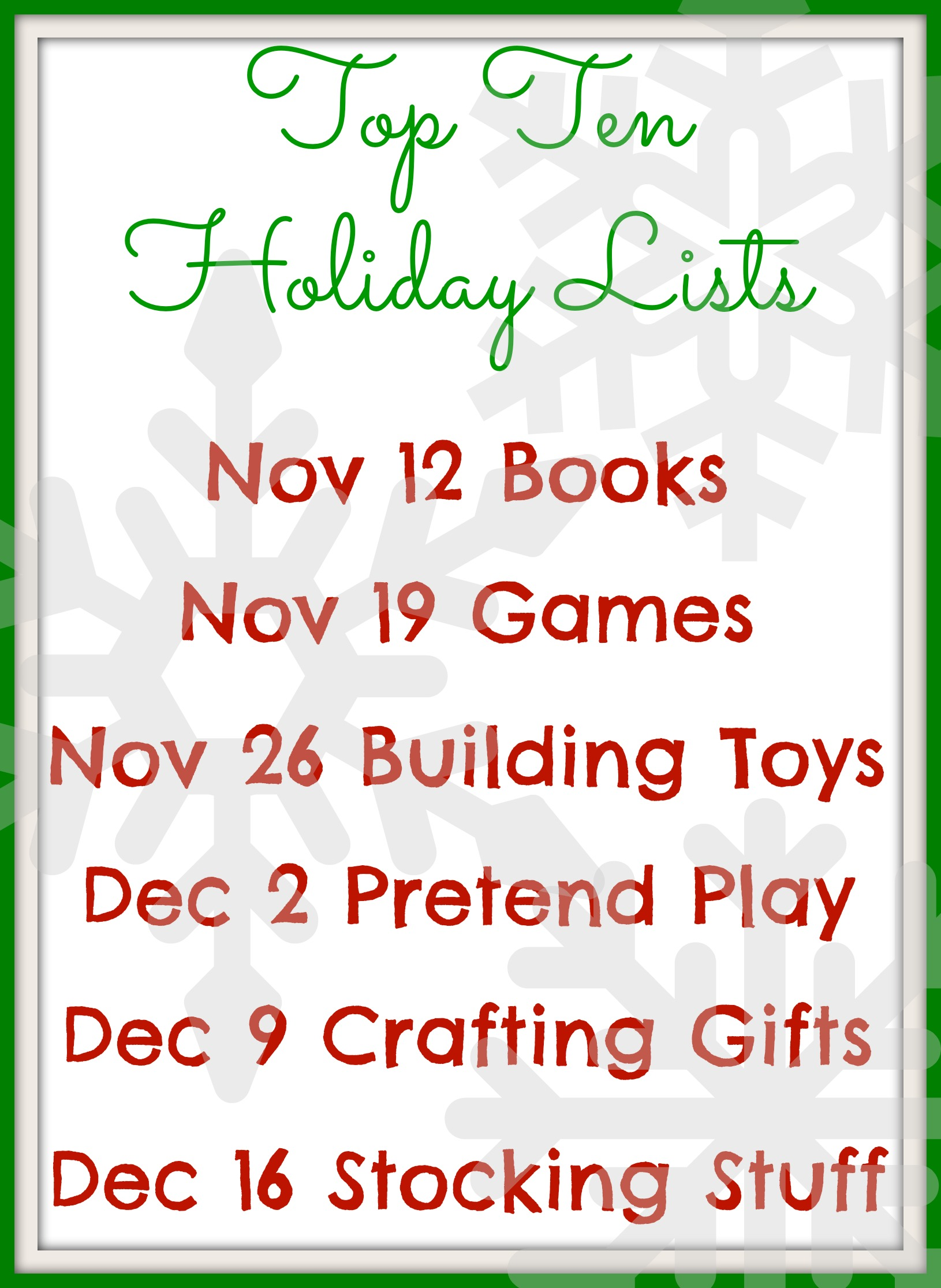 top games puzzles for year olds stir the wonder top ten holiday lists dates