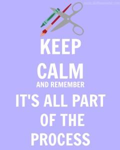 Keep Calm- Process