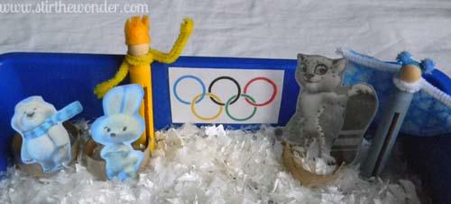 Sochi Winter Olympics Mascots