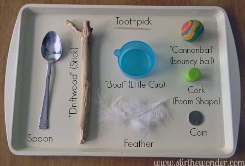 Science Books For Preschoolers Sink Float Experiment