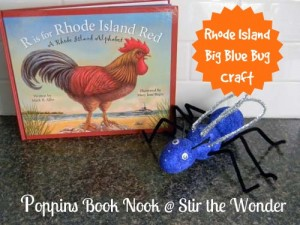R is for Rhode Island Red Activities {Poppins Book Nook} | Stir the Wonder #kbn #poppinsbooknook #rhodeisland