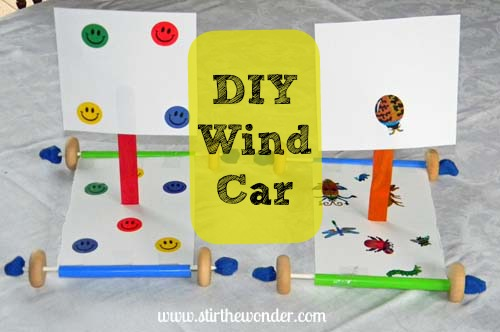 DIY wind car