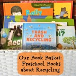 Preschool Books about Recycling {Saturday Science} | Stir the Wonder #saturdayscience #preschool #recycle