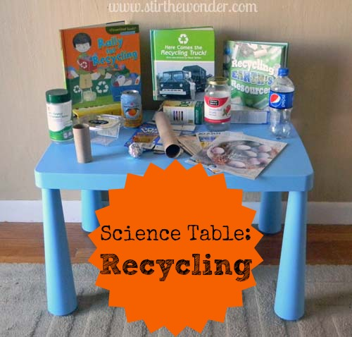 Science Table: Recycling