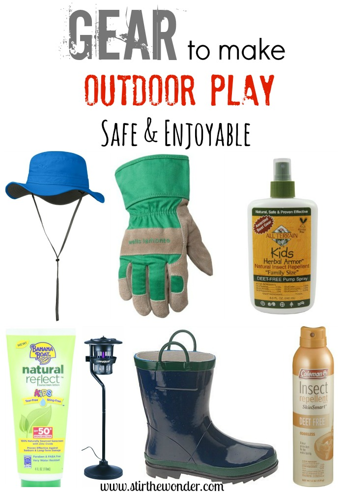 Gear to Make Outdoor Play Safe & Enjoyable