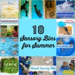 10 Sensory Bins for Summer | Stir the Wonder #handsonplay #kbn #sensory
