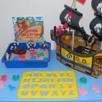 Shiver Me Letters Sensory Bin and Pirate Play