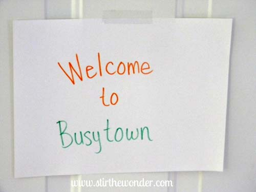 welcome to busytown