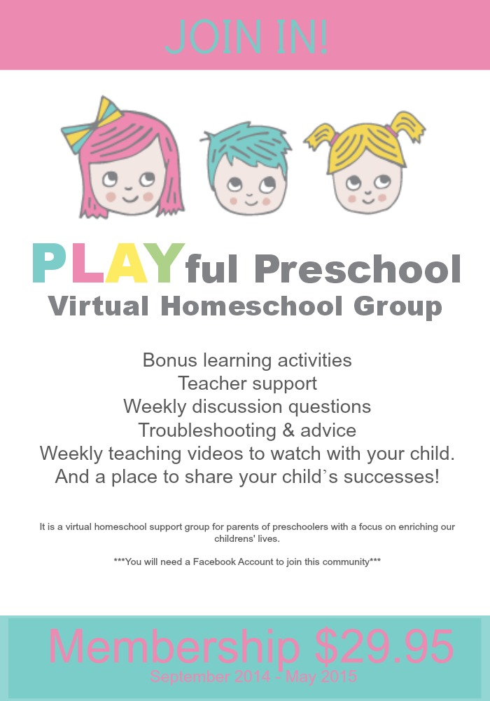 Preschool Homeschool Group