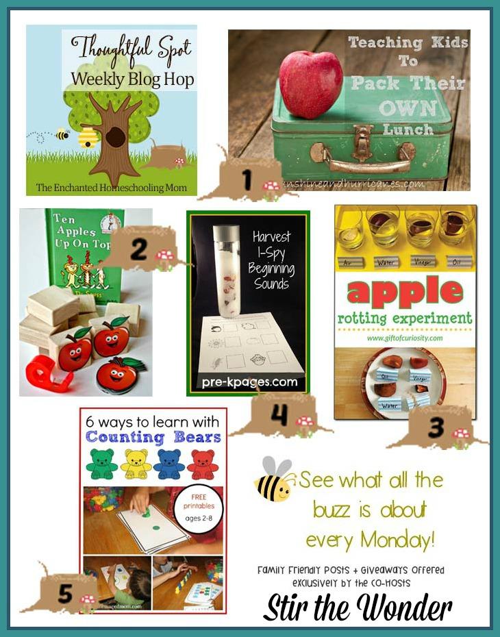 Thoughtful Spot Weekly Blog Hop #53   Stir the Wonder #kbn #thoughtfulspot