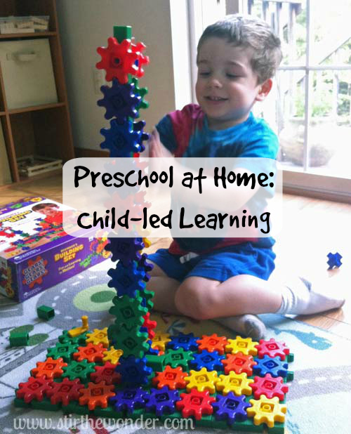 Preschool at Home: Child-led Learning