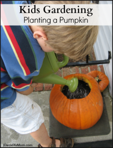 kids-gardening-planting-a-pumpkin-title-230x300