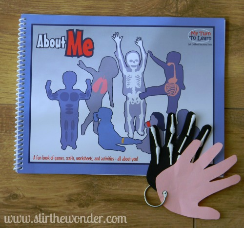 'About Me' Science Activity Book Review and Giveaway