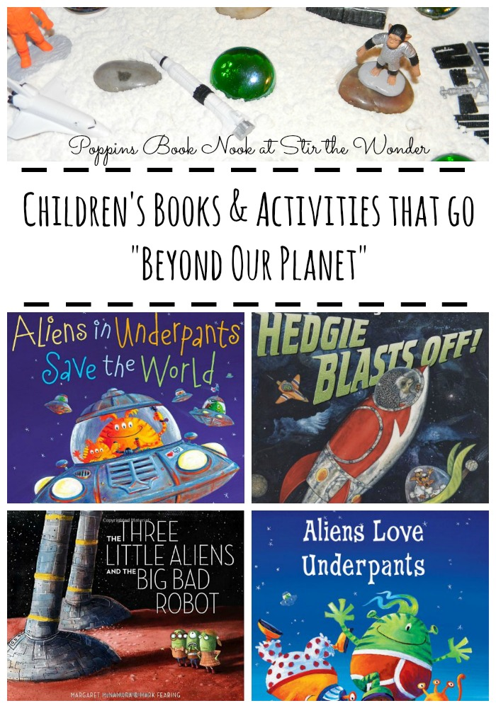 "Children's Books & Activities that go ""Beyond Our Planet"" 