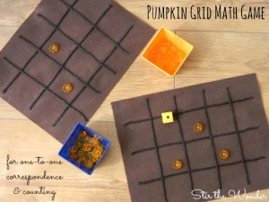 pumpkin grid math game 2