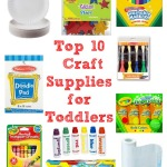 Top 10 Craft Supplies for Toddlers