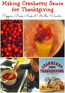 Making Cranberry Sauce for Thanksgiving | Stir the Wonder #poppinsbooknook #kidsinthekitchen