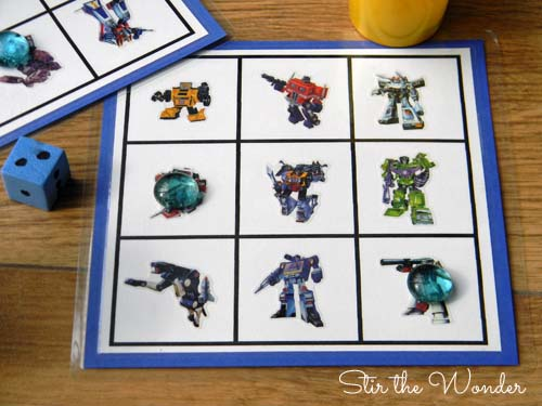 transformers grid game 2w