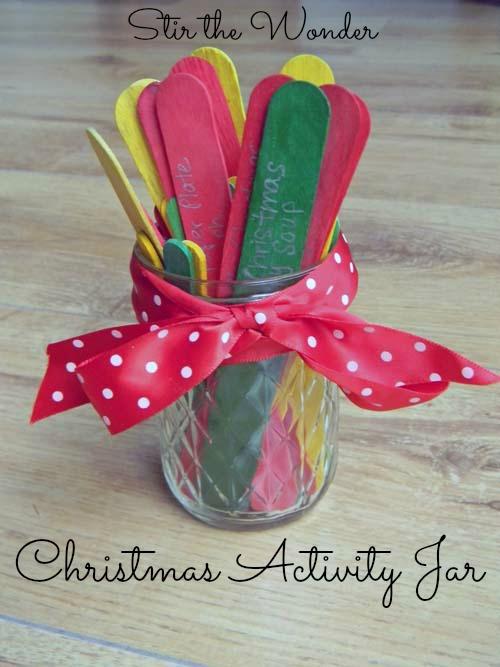 Christmas Activity Jar