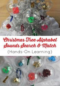 Christmas Tree Alphabet Sounds Search & Match 2