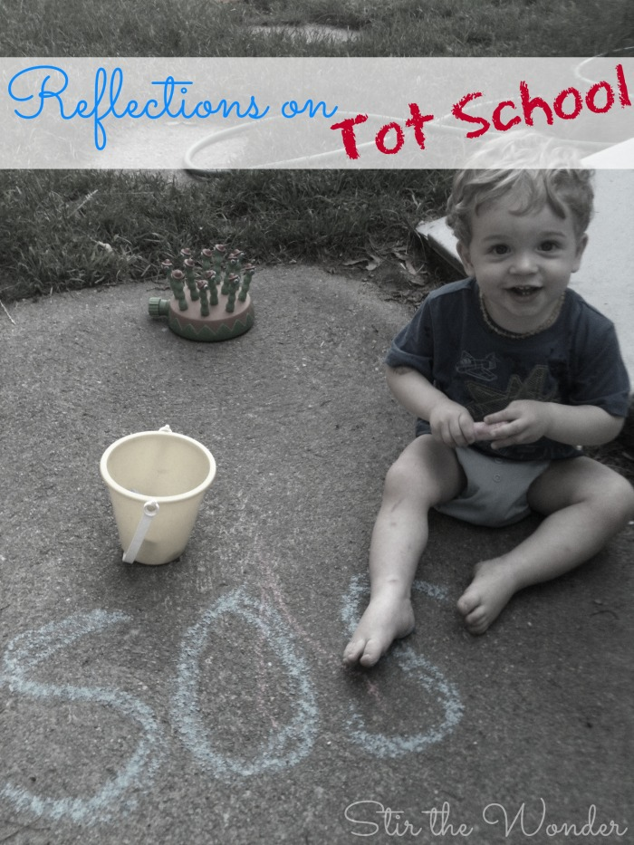 My Reflections on our Tot School time & why I gave it up