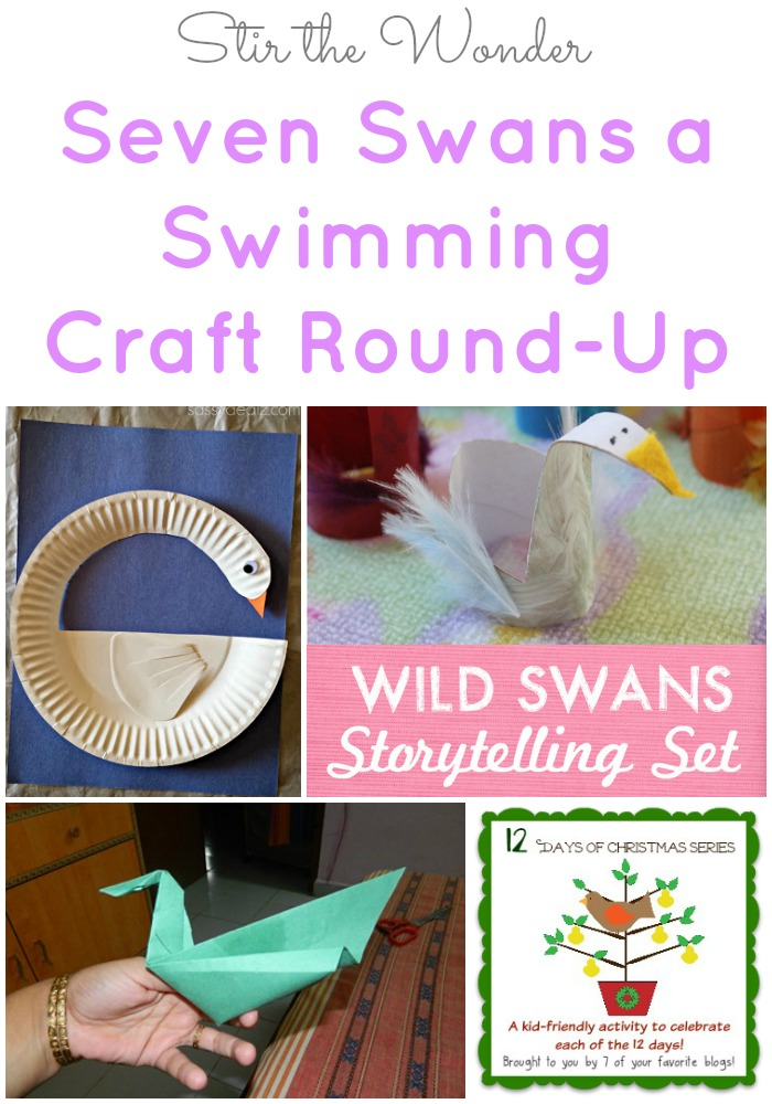 Seven Swans a Swimming Craft Round-Up