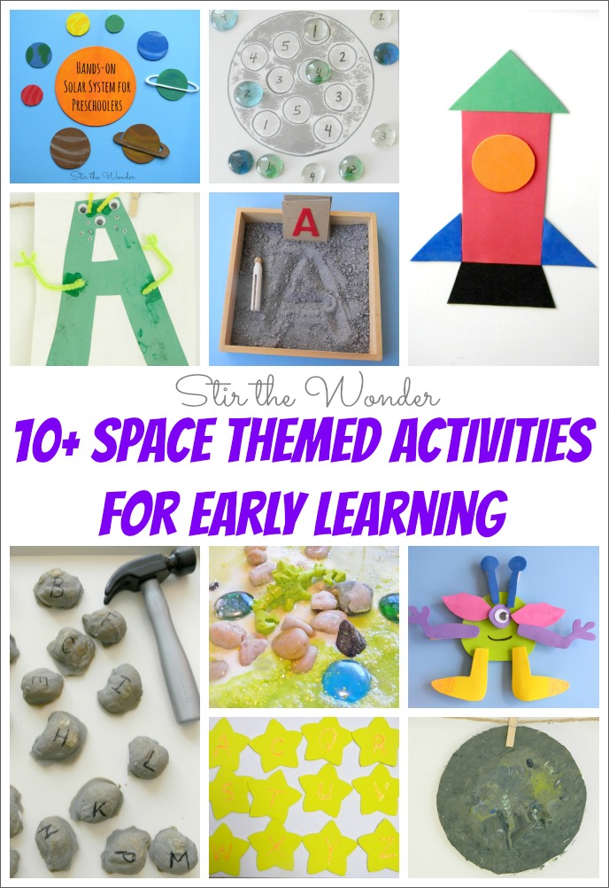10-Space-Themed-Activities-for ...