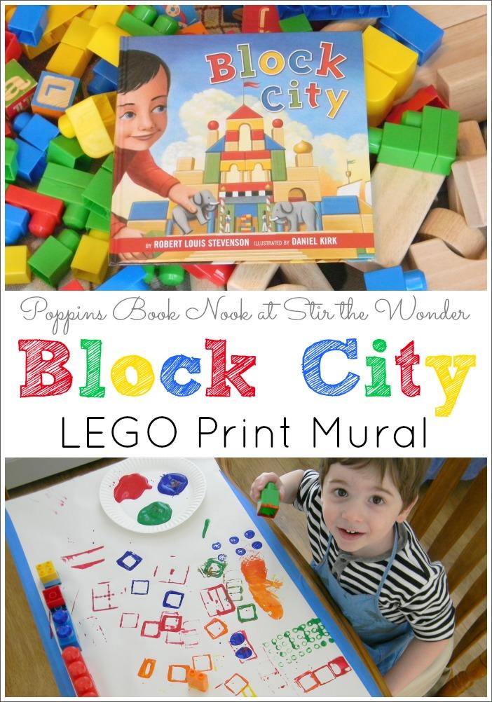 Block City LEGO Print Mural