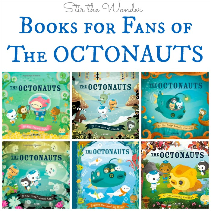 Books for Fans of The Octonauts, the six original books by MEOMI that inspired the popular children's cartoon. | Stir the Wonder