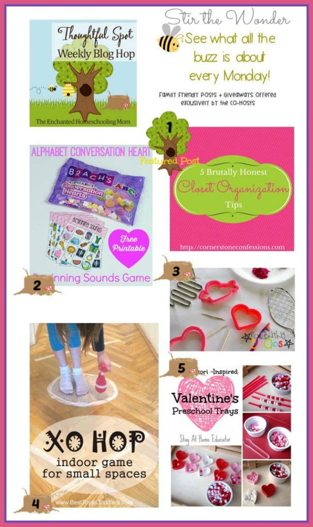 Thoughtful Spot Weekly Blog Hop #73 featuring posts by Cornerstone Confessions, Pre-k Pages, Parenting Chaos, Best Toys 4 Toddlers & Stay at Home Educator. Plus a new GIVEAWAY for Frozen watches for kids! | Stir the Wonder