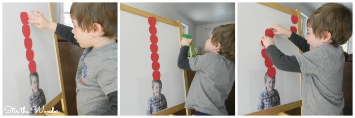 Ten Apples Up On Top Math & Fine Motor Activity for toddlers and preschoolers