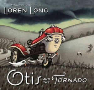 Otis and the Tornado by Loren Long, tornado in a bottle science activity