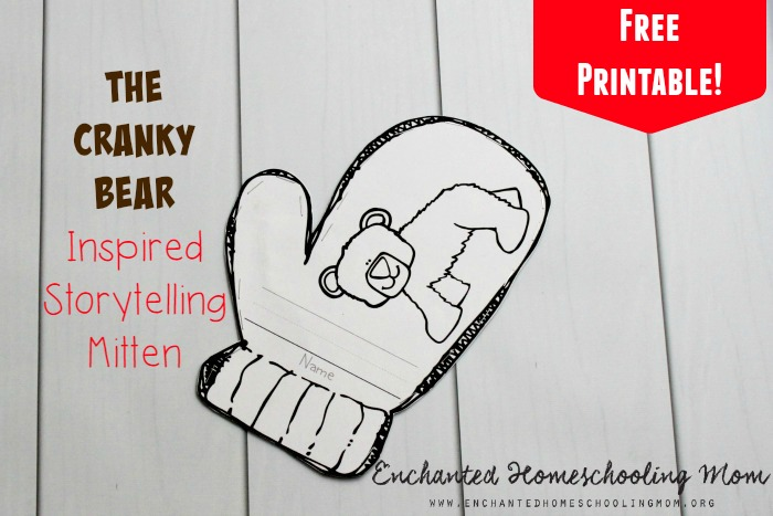 The Cranky Bear Inspired Storytelling Mitten