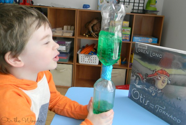 Tornado in a Bottle Science Activity | Stir the Wonder