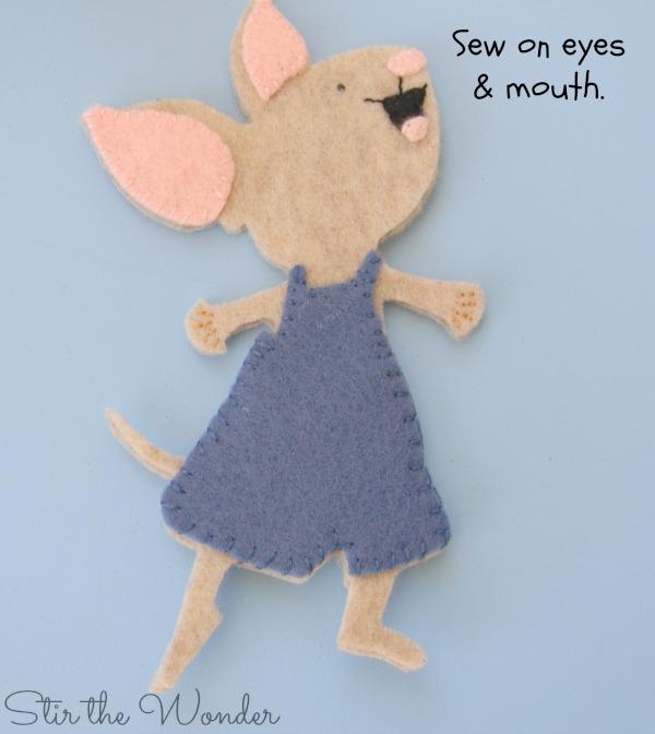 Felt Mouse Tutorial 8
