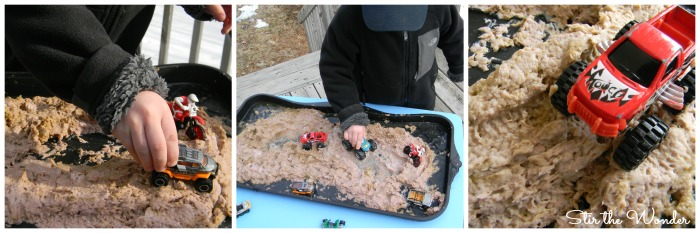 Gone Mudding! Sensory Play 2