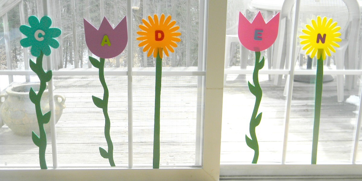 Spring Flowers Name Activity F