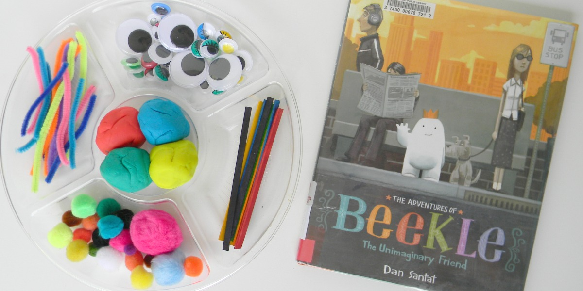 Play Dough Invitation with Beekle