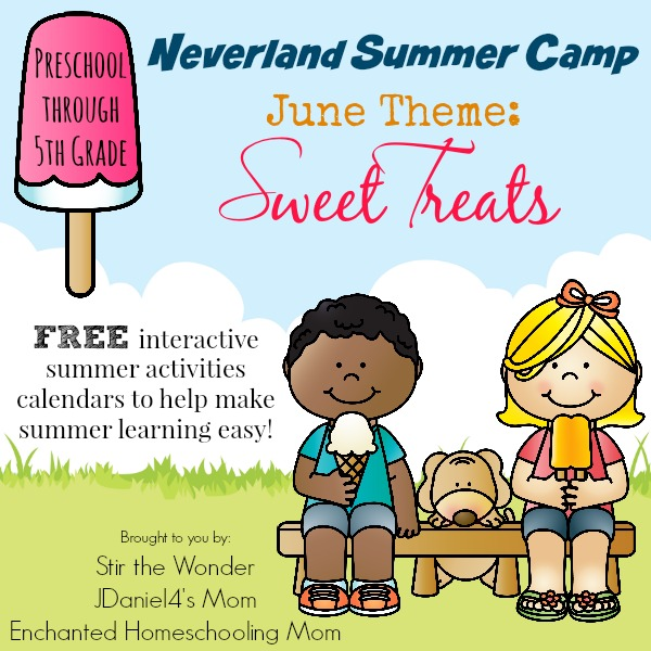 Neverland Summer Camp- an interactive calendar full of activities for preschoolers!
