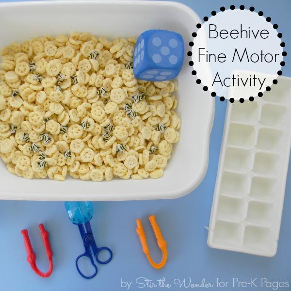 Beehive Fine Motor Activity 2