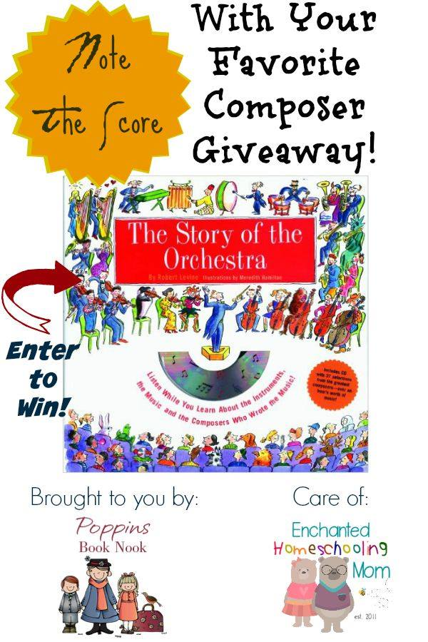 Composer Giveaway from Poppins Book Nook