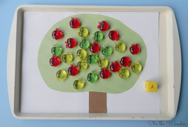 ABC Apple Tree Preschool Literacy Game