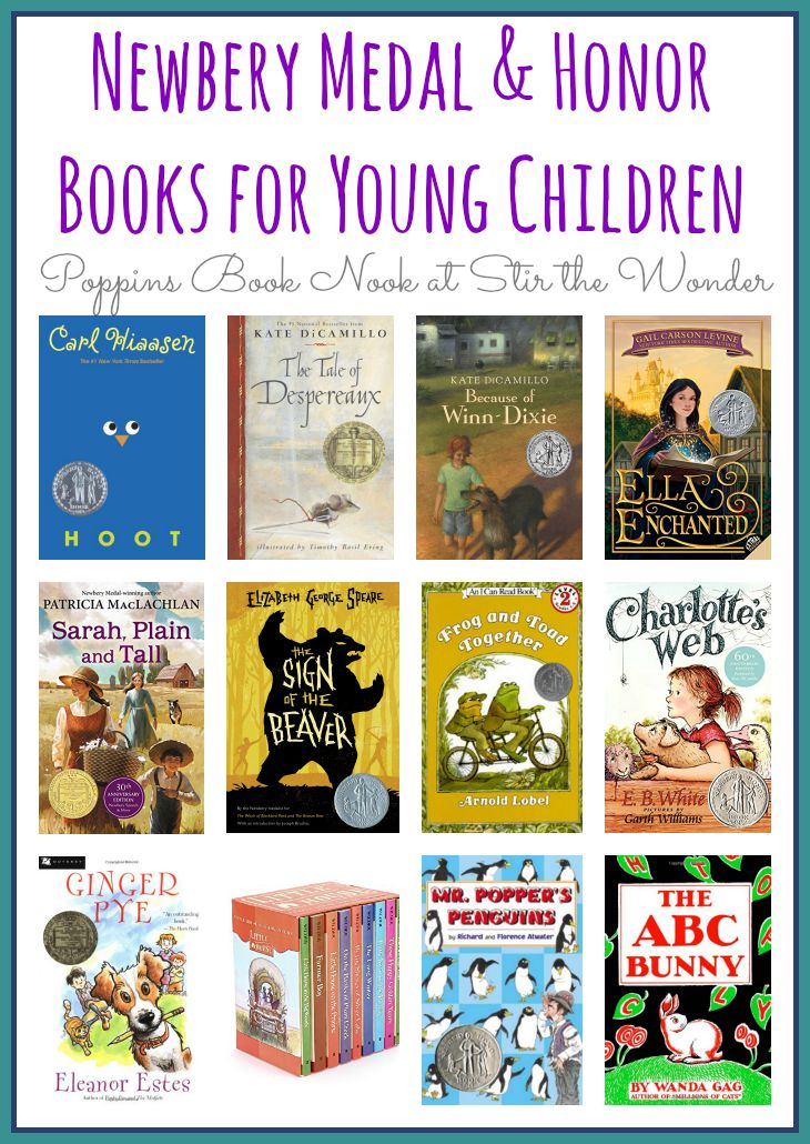Newbery Medal and Honor Books for Young Children