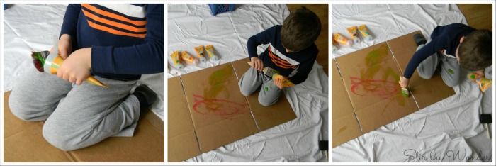 Pollock Process Art 2