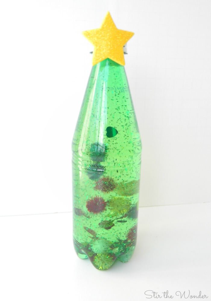 Christmas Tree Sensory Bottle _ notext