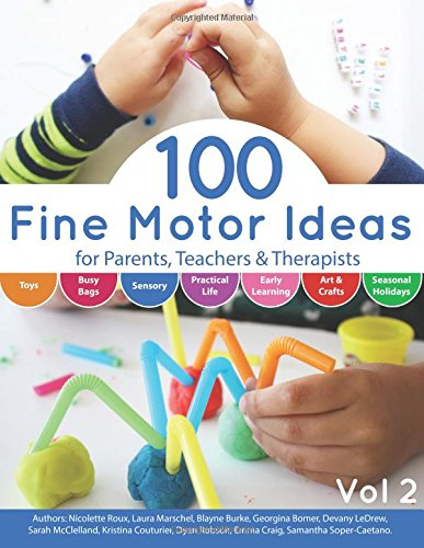 100 Fine Motor Ideas for Parents, Teachers and Therapists to engage children in fine motor skills!